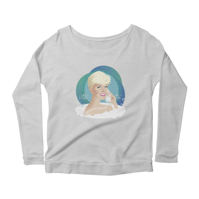 Pillow talk Women's Scoop Neck Longsleeve T-Shirt by Ale Mogolloart's Artist Shop