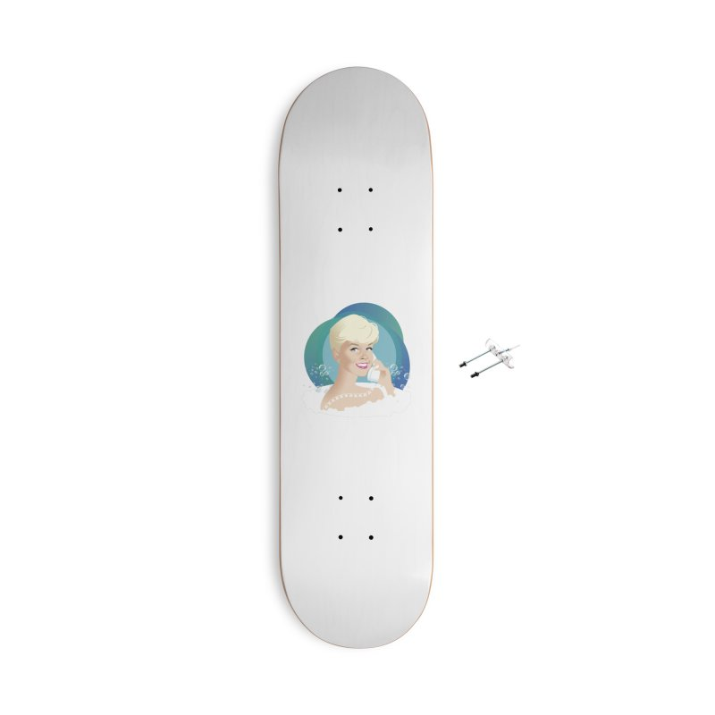 Pillow talk Accessories With Hanging Hardware Skateboard by Ale Mogolloart's Artist Shop