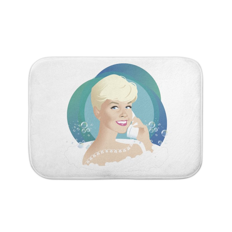 Pillow talk Home Bath Mat by Ale Mogolloart's Artist Shop