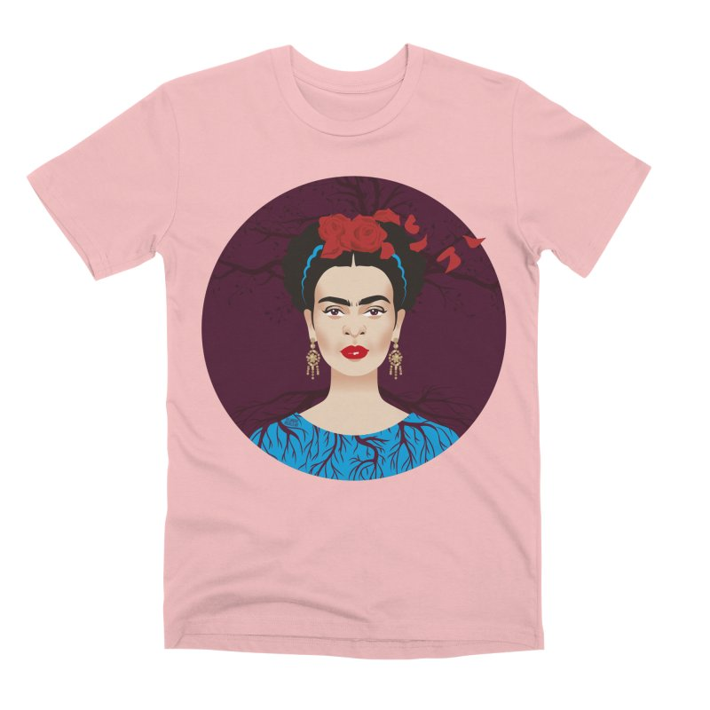 Frida Men's Premium T-Shirt by Ale Mogolloart's Artist Shop