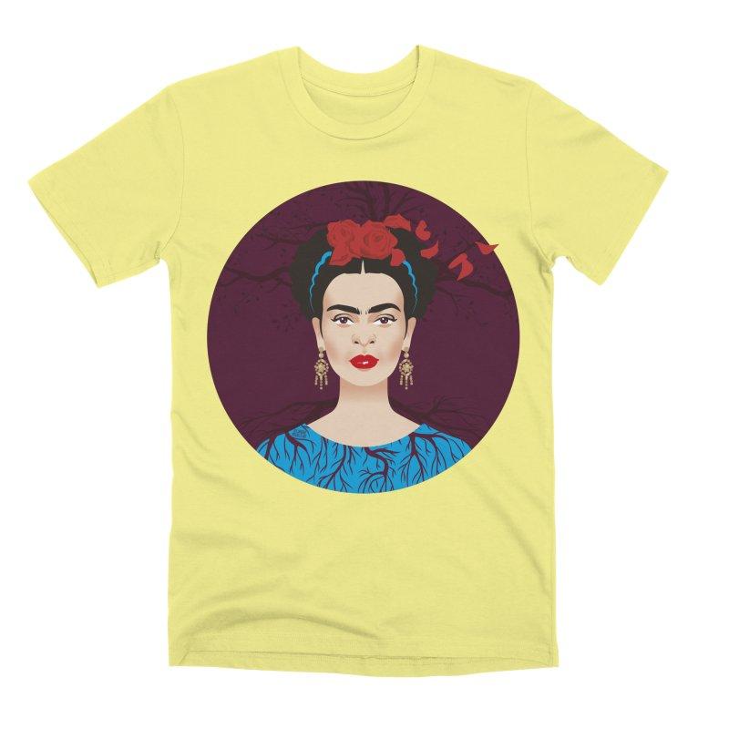 Frida Men's Premium T-Shirt by Ale Mogolloart's Artist Shop