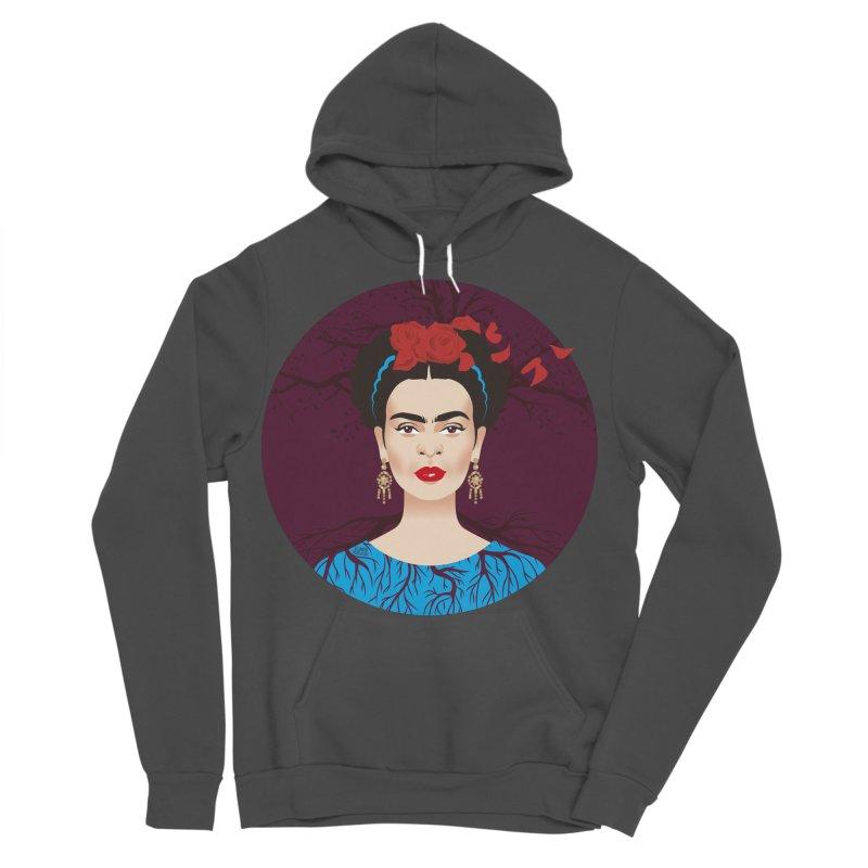 Frida Men's Sponge Fleece Pullover Hoody by Ale Mogolloart's Artist Shop