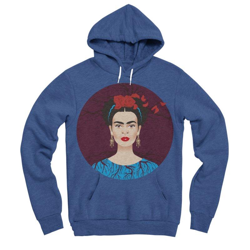 Frida Women's Sponge Fleece Pullover Hoody by Ale Mogolloart's Artist Shop