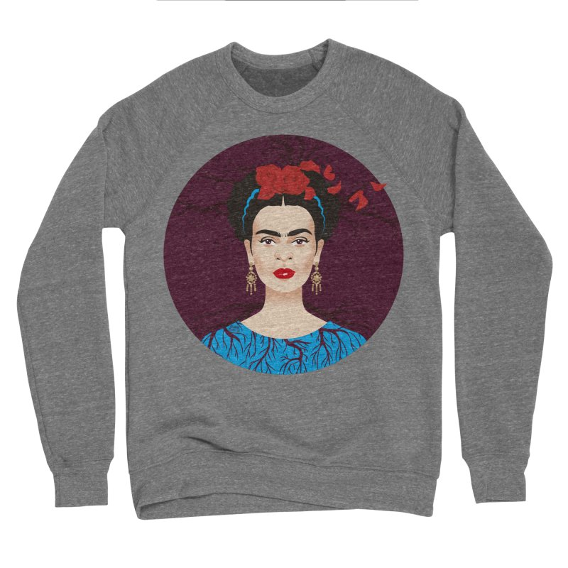 Frida Women's Sponge Fleece Sweatshirt by Ale Mogolloart's Artist Shop