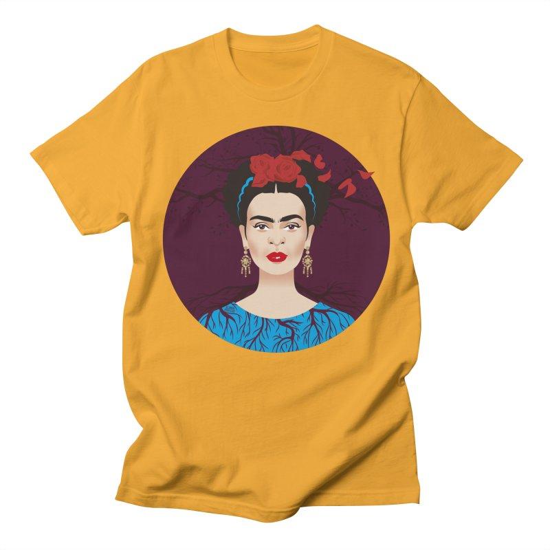 Frida Women's Regular Unisex T-Shirt by Ale Mogolloart's Artist Shop