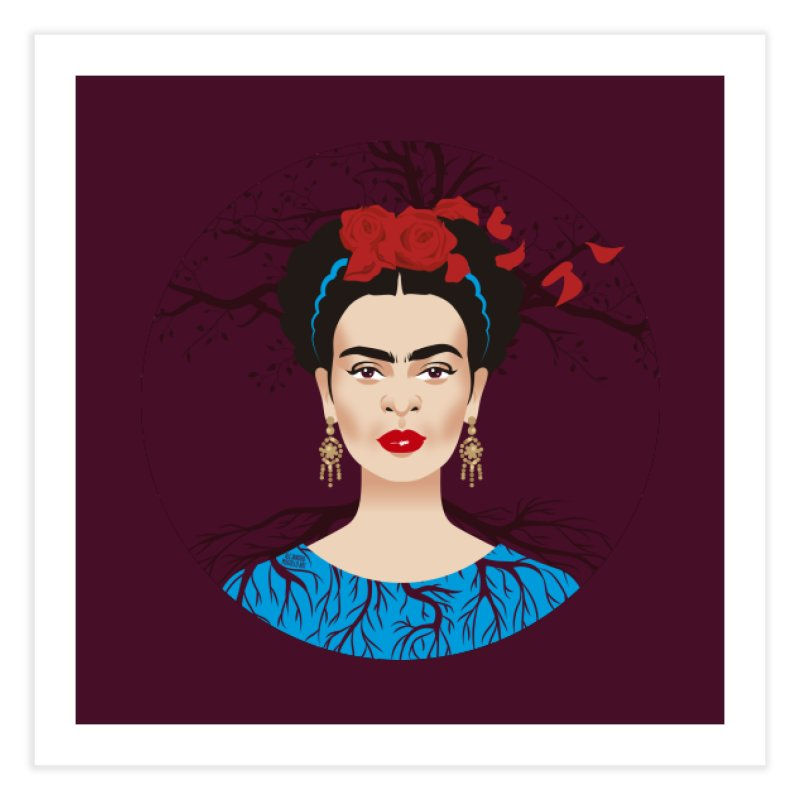 Frida Home Fine Art Print by Ale Mogolloart's Artist Shop