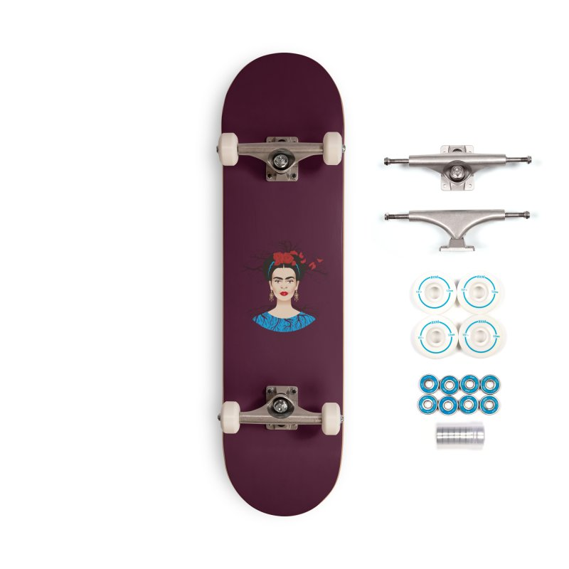 Frida Accessories Complete - Basic Skateboard by Ale Mogolloart's Artist Shop