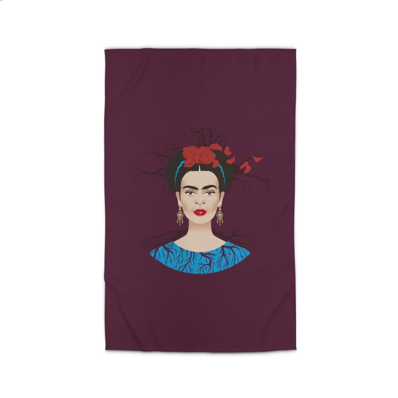 Frida Home Rug by Ale Mogolloart's Artist Shop