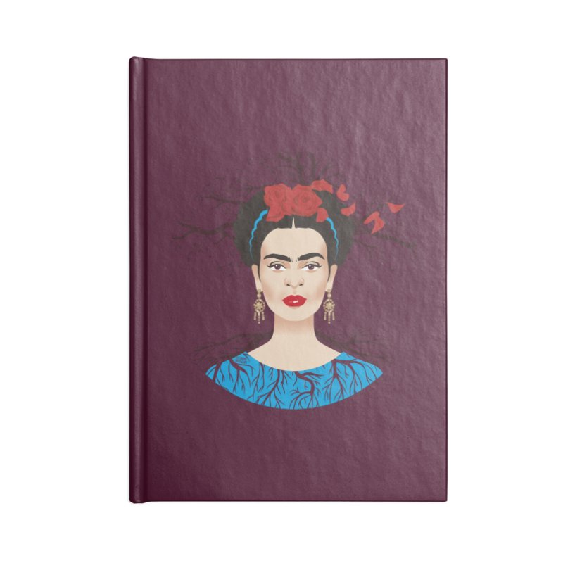 Frida Accessories Notebook by Ale Mogolloart's Artist Shop