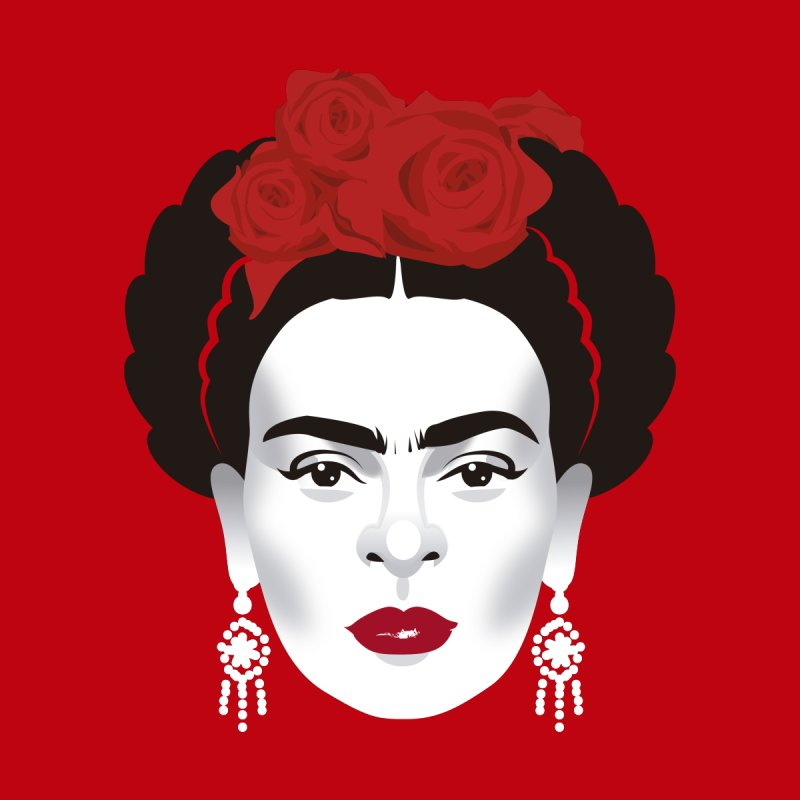 Red Frida by Ale Mogolloart's Artist Shop