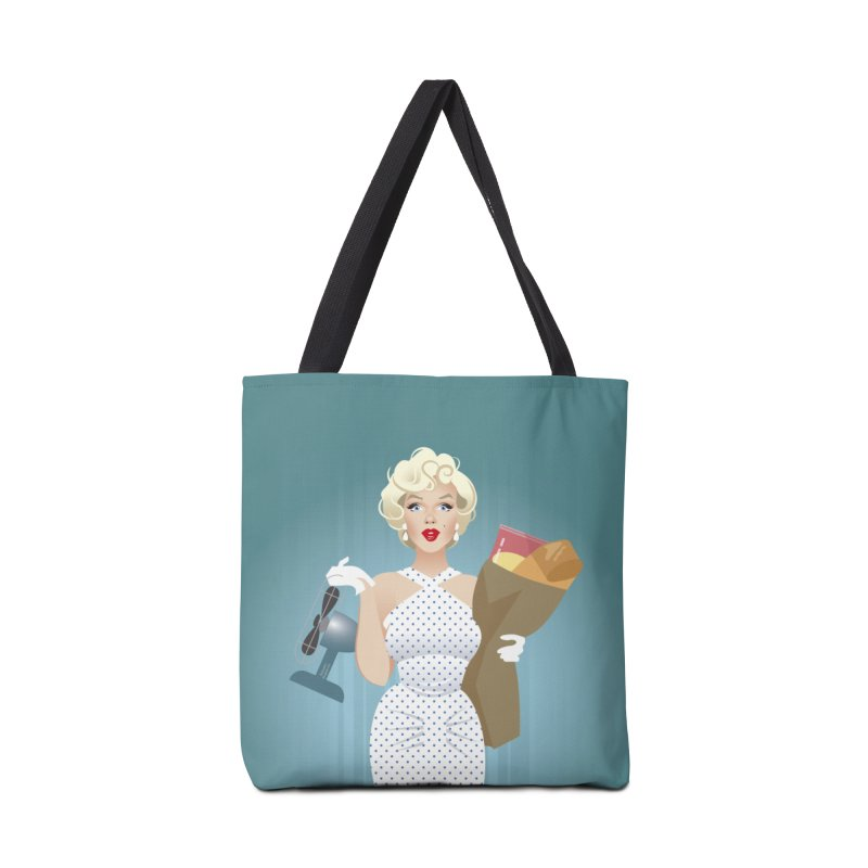 The girl! Accessories Tote Bag Bag by Ale Mogolloart's Artist Shop