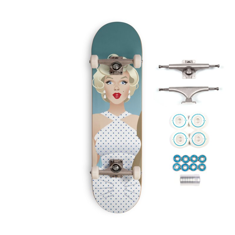 The girl! Accessories Complete - Basic Skateboard by Ale Mogolloart's Artist Shop