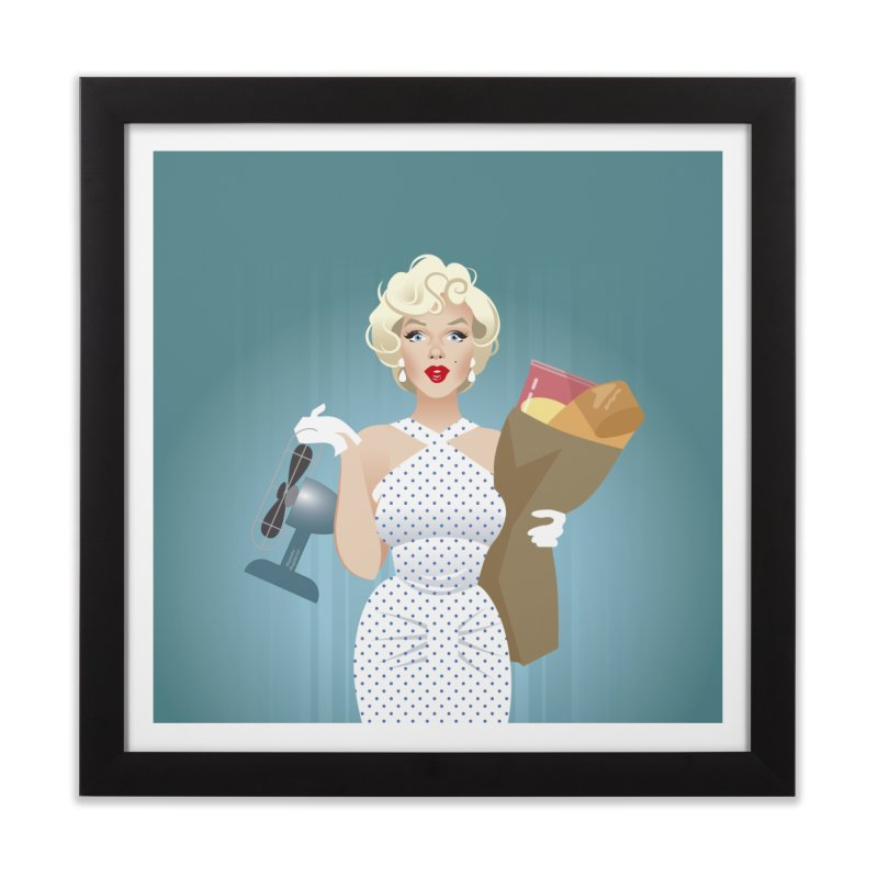 The girl! Home Framed Fine Art Print by Ale Mogolloart's Artist Shop