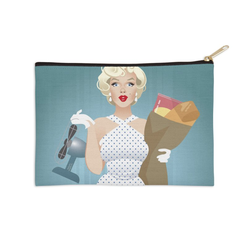 The girl! Accessories Zip Pouch by Ale Mogolloart's Artist Shop