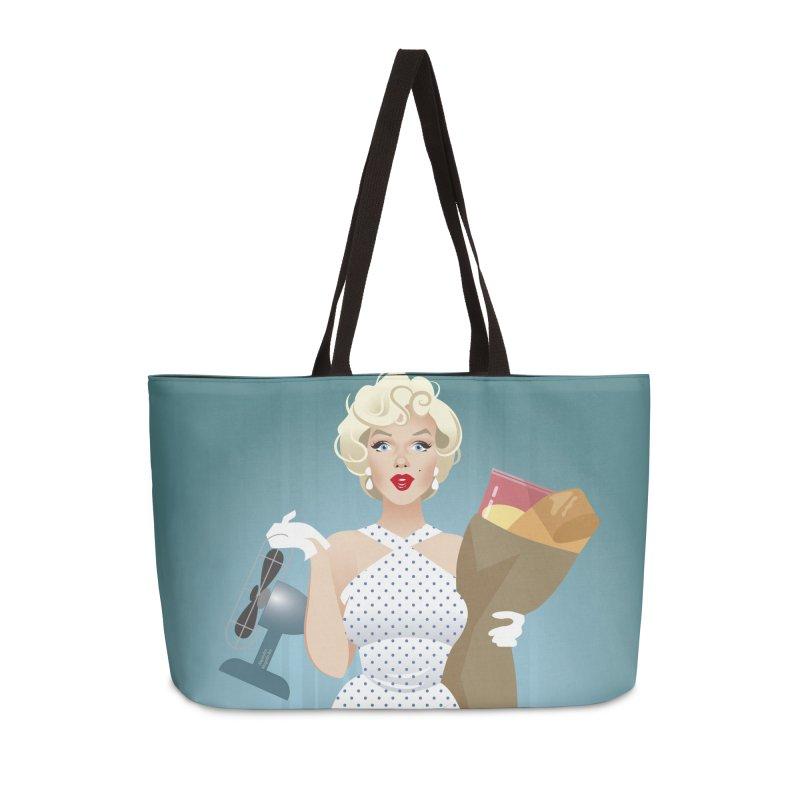 The girl! Accessories Weekender Bag Bag by Ale Mogolloart's Artist Shop