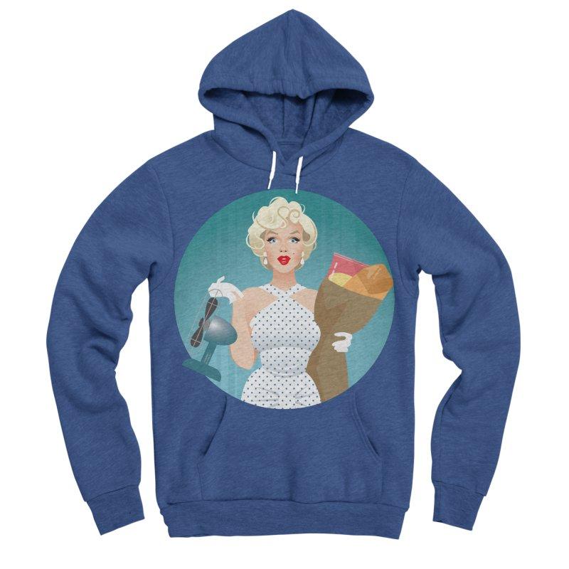 The girl! Women's Sponge Fleece Pullover Hoody by Ale Mogolloart's Artist Shop