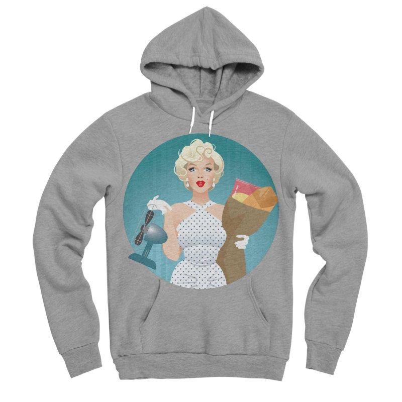 The girl! Men's Sponge Fleece Pullover Hoody by Ale Mogolloart's Artist Shop