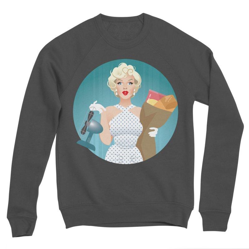 The girl! Men's Sponge Fleece Sweatshirt by Ale Mogolloart's Artist Shop