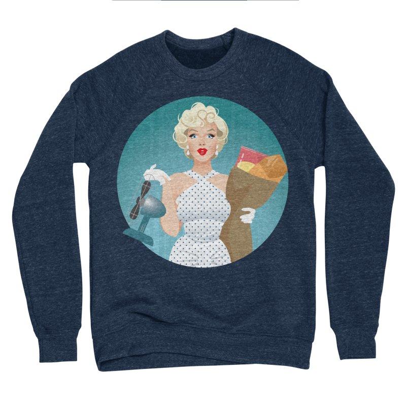 The girl! Women's Sponge Fleece Sweatshirt by Ale Mogolloart's Artist Shop