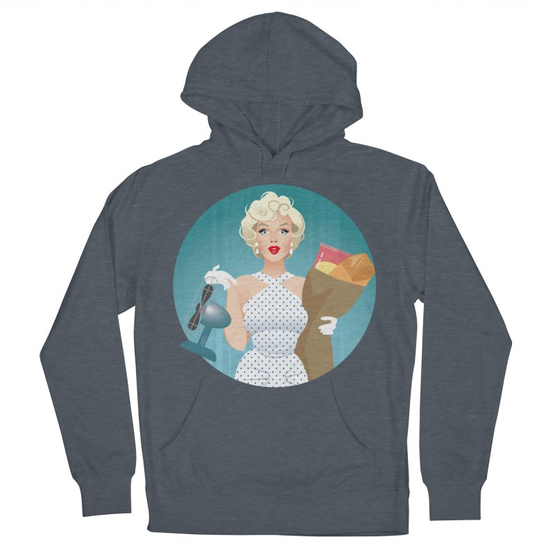 The girl! Women's French Terry Pullover Hoody by Ale Mogolloart's Artist Shop
