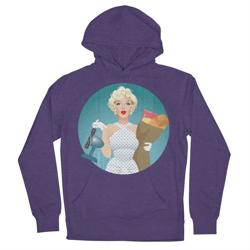 The girl! Men's French Terry Pullover Hoody by Ale Mogolloart's Artist Shop