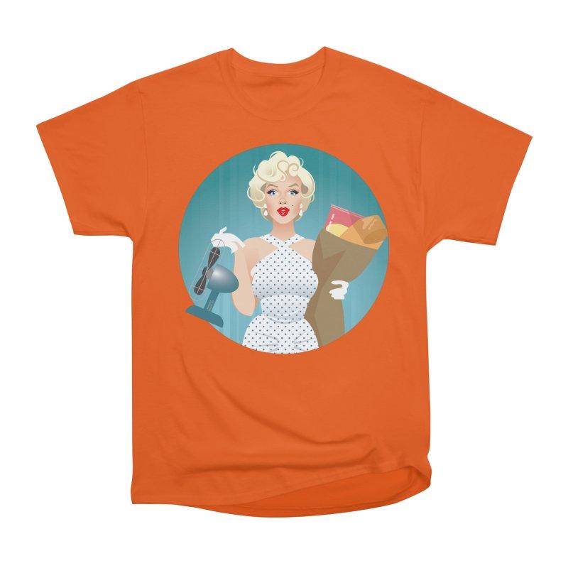 The girl! Men's Heavyweight T-Shirt by Ale Mogolloart's Artist Shop
