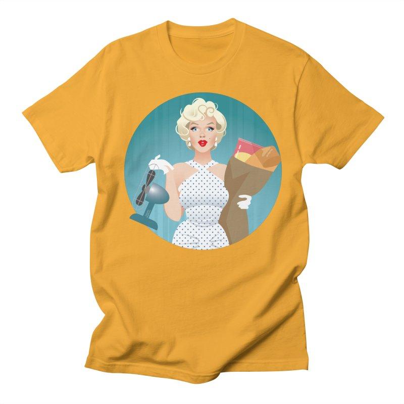 The girl! Men's Regular T-Shirt by Ale Mogolloart's Artist Shop