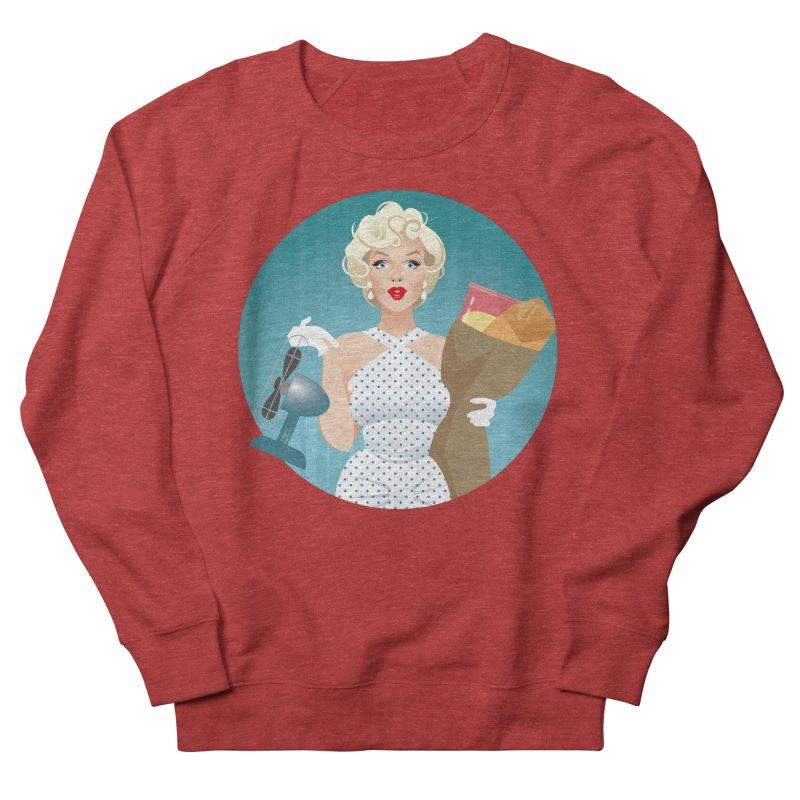 The girl! Women's French Terry Sweatshirt by Ale Mogolloart's Artist Shop