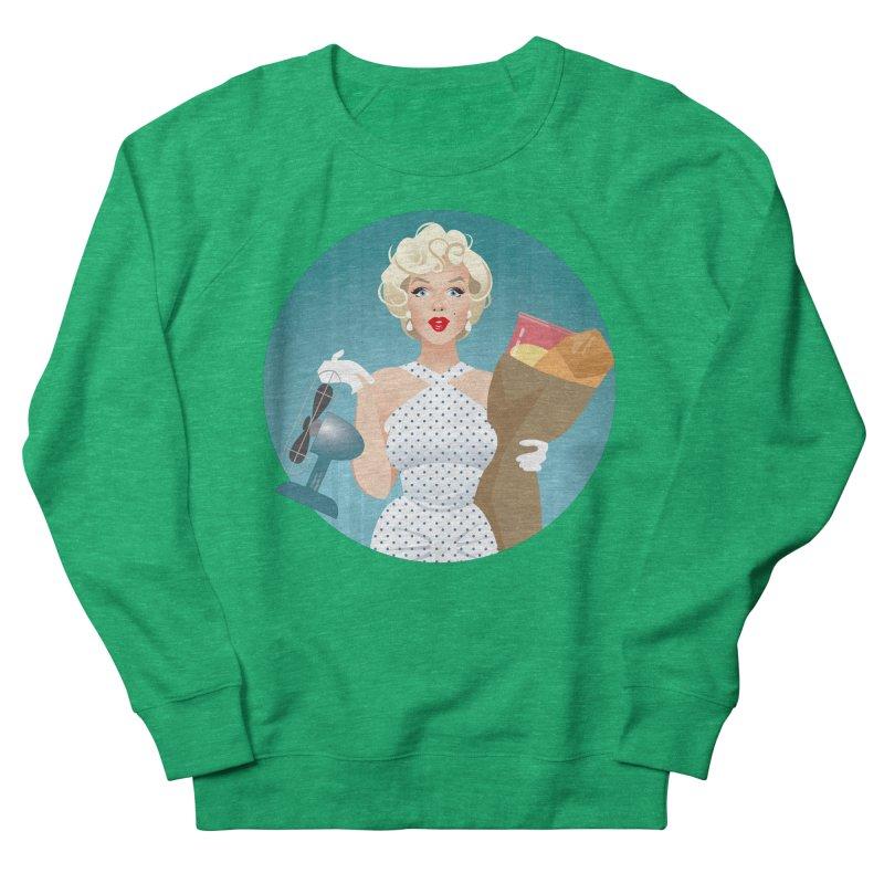 The girl! Men's French Terry Sweatshirt by Ale Mogolloart's Artist Shop