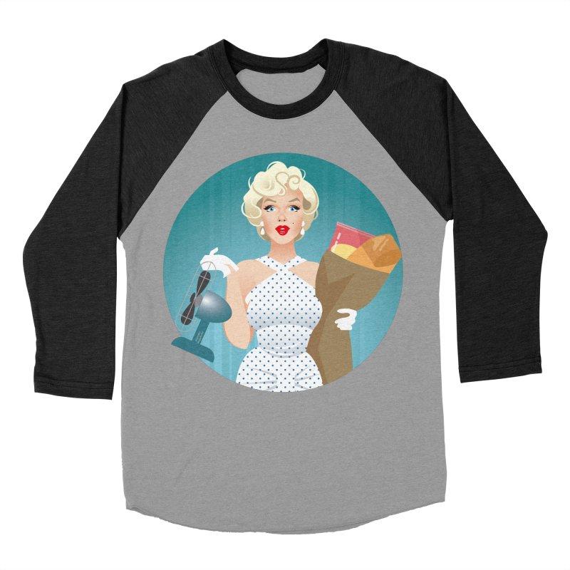 The girl! Women's Baseball Triblend Longsleeve T-Shirt by Ale Mogolloart's Artist Shop