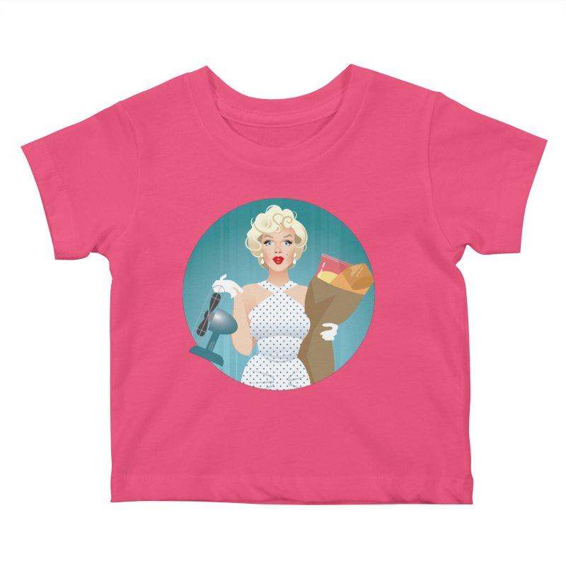The girl! Kids Baby T-Shirt by Ale Mogolloart's Artist Shop