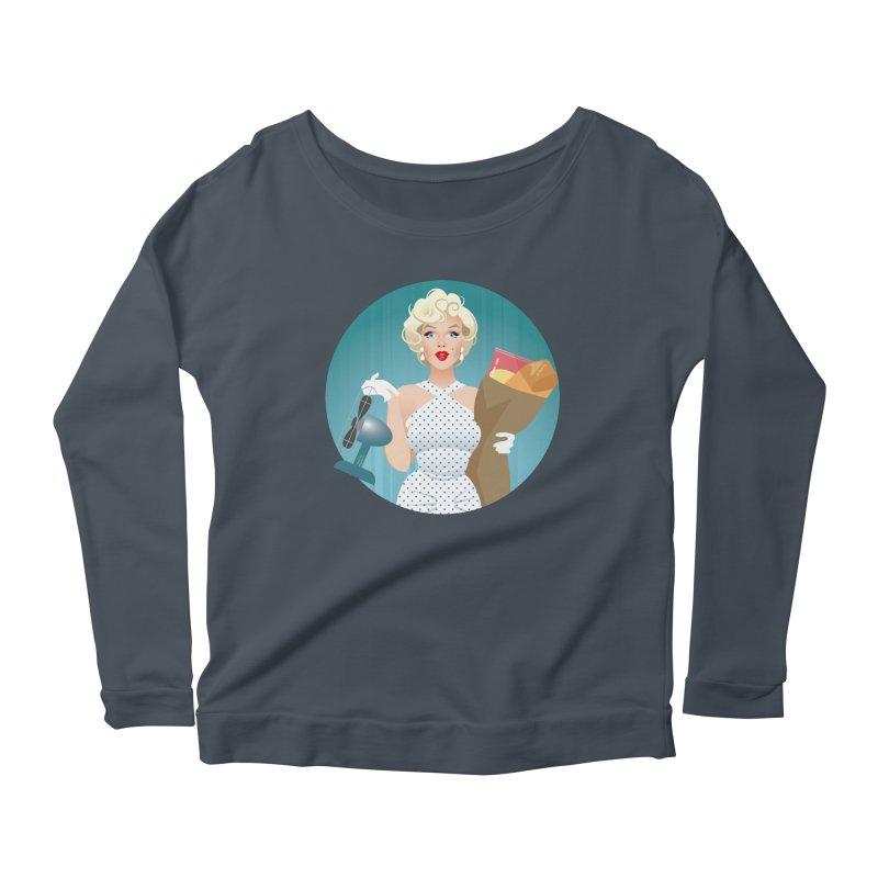 The girl! Women's Scoop Neck Longsleeve T-Shirt by Ale Mogolloart's Artist Shop