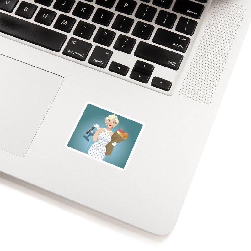 The girl! Accessories Sticker by Ale Mogolloart's Artist Shop