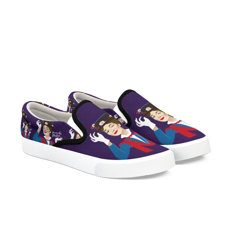 Practically perfect Men's Slip-On Shoes by Ale Mogolloart's Artist Shop