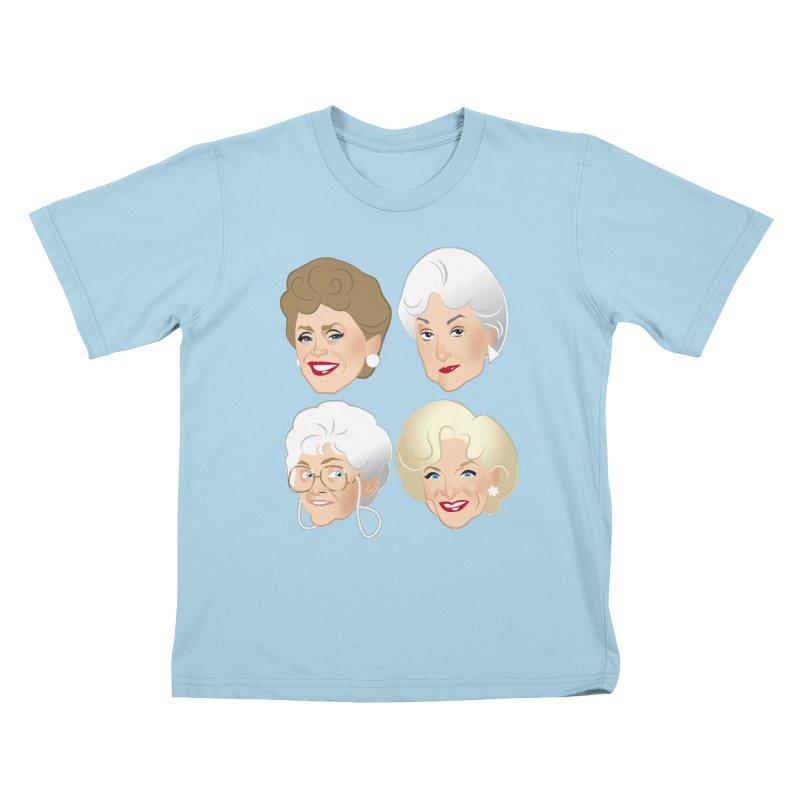 Pals Kids T-Shirt by Ale Mogolloart's Artist Shop