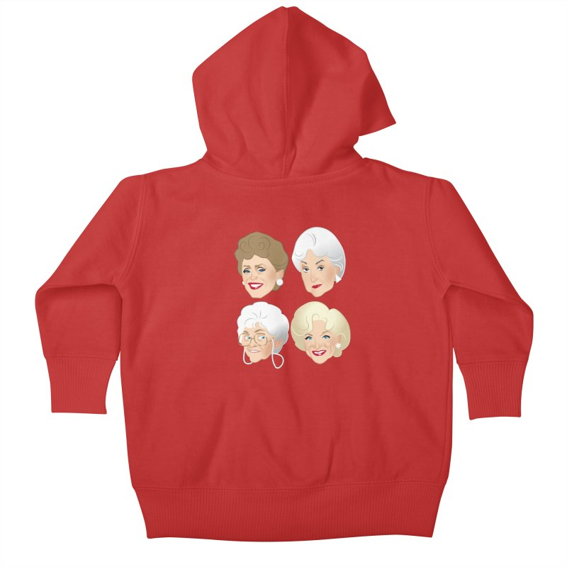 Pals Kids Baby Zip-Up Hoody by Ale Mogolloart's Artist Shop