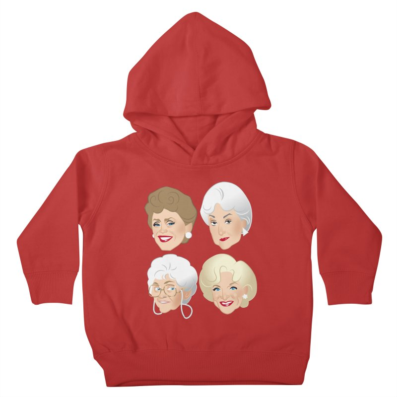 Pals Kids Toddler Pullover Hoody by Ale Mogolloart's Artist Shop