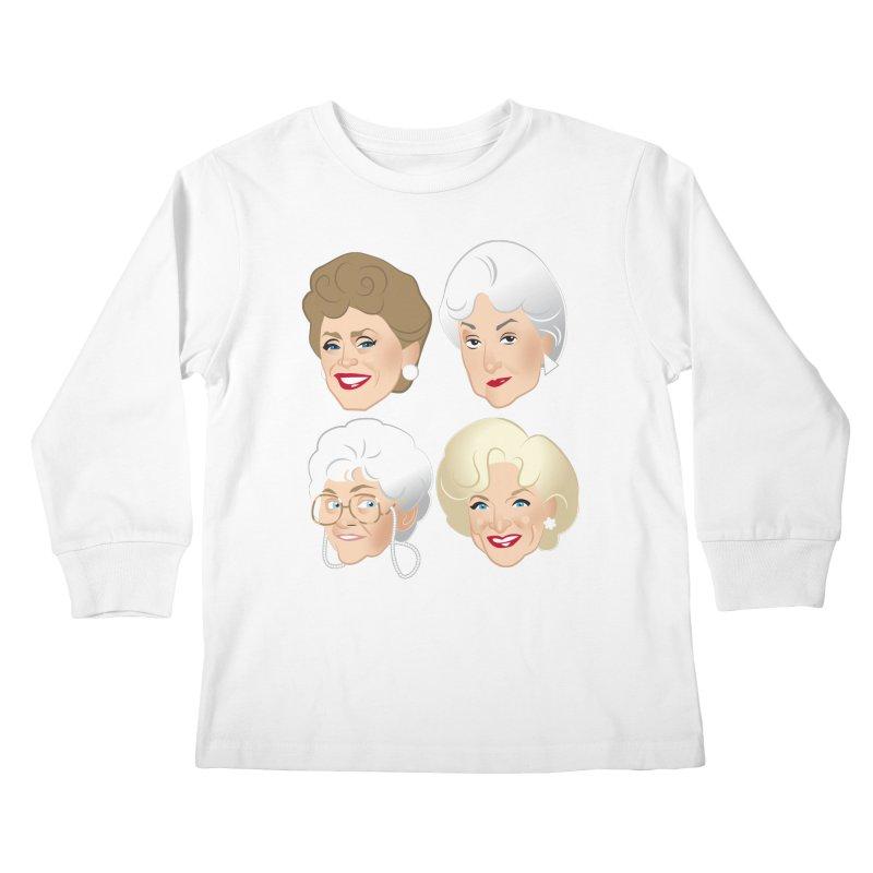 Pals Kids Longsleeve T-Shirt by Ale Mogolloart's Artist Shop