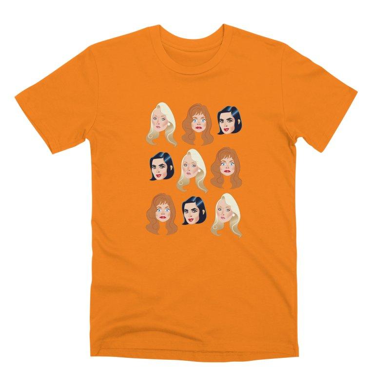Death becomes her Men's Premium T-Shirt by Ale Mogolloart's Artist Shop