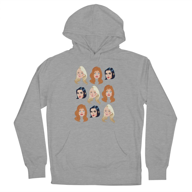 Death becomes her Women's French Terry Pullover Hoody by Ale Mogolloart's Artist Shop