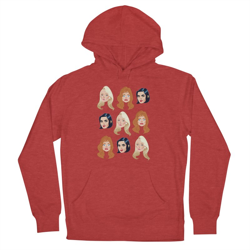 Death becomes her Men's French Terry Pullover Hoody by Ale Mogolloart's Artist Shop