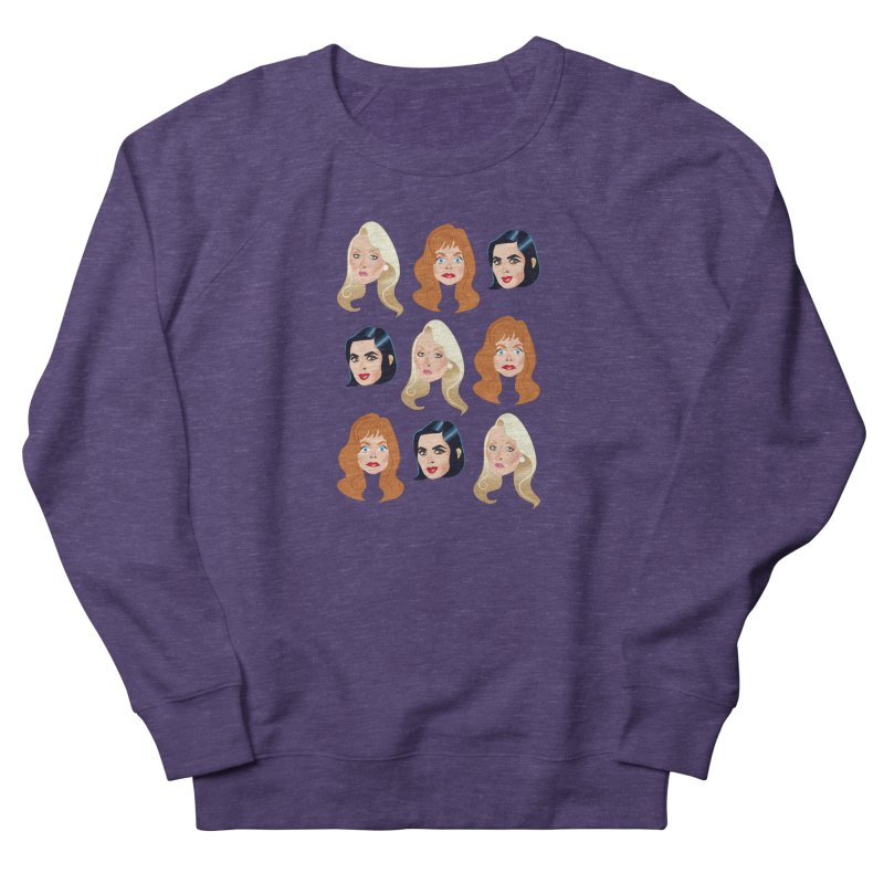 Death becomes her Women's French Terry Sweatshirt by Ale Mogolloart's Artist Shop