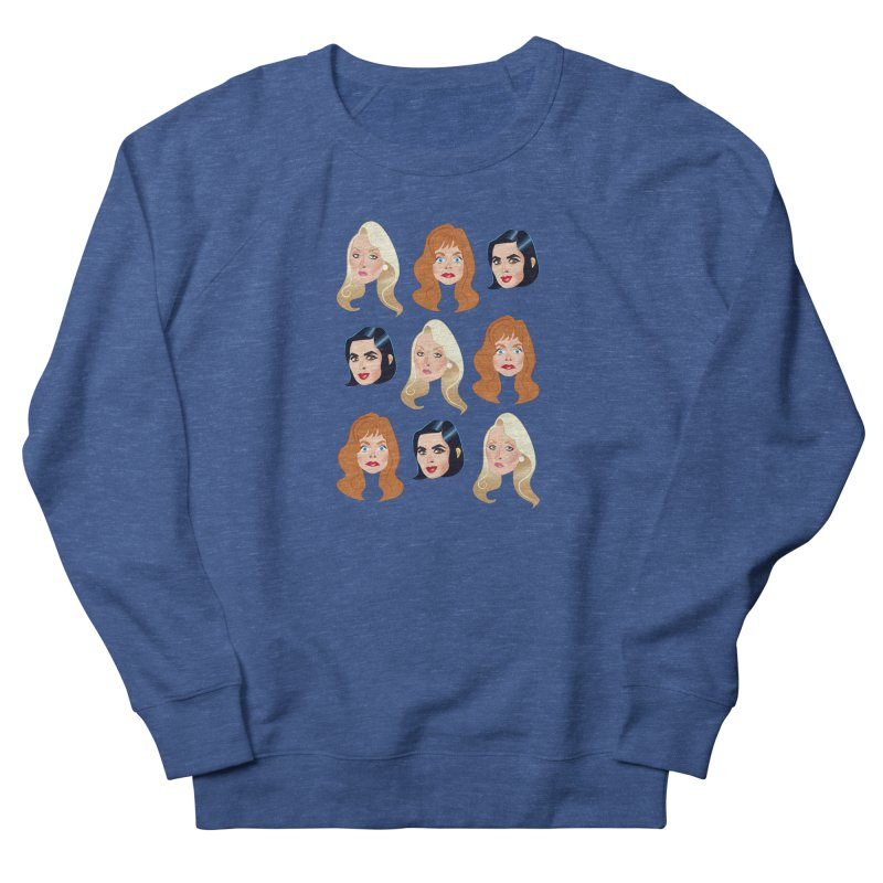 Death becomes her Men's French Terry Sweatshirt by Ale Mogolloart's Artist Shop