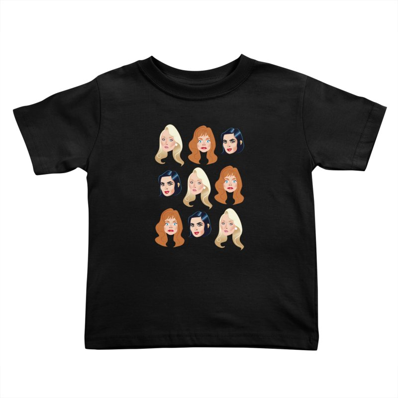 Death becomes her Kids Toddler T-Shirt by Ale Mogolloart's Artist Shop