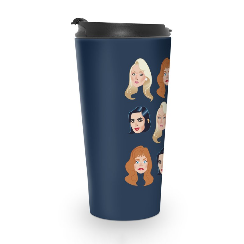 Death becomes her Accessories Travel Mug by Ale Mogolloart's Artist Shop