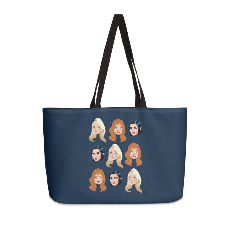 Death becomes her Accessories Weekender Bag Bag by Ale Mogolloart's Artist Shop