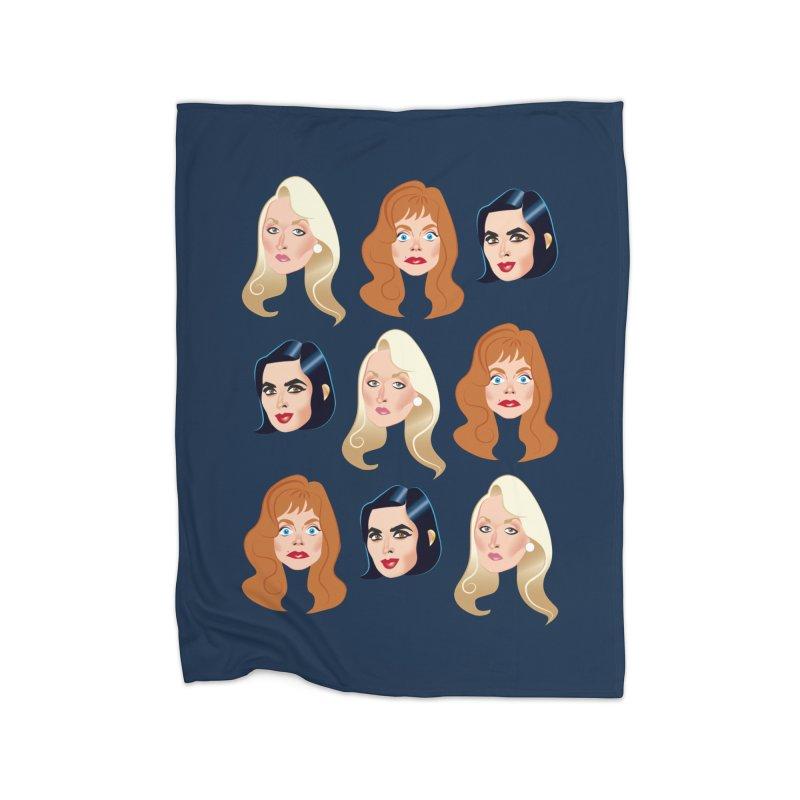Death becomes her Home Fleece Blanket Blanket by Ale Mogolloart's Artist Shop