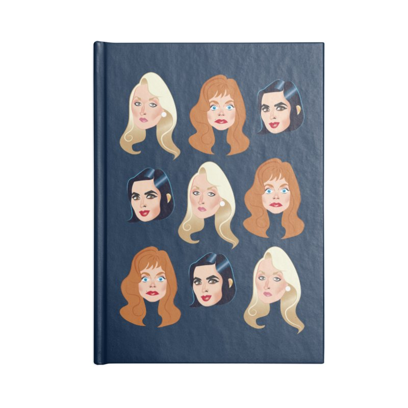 Death becomes her Accessories Blank Journal Notebook by Ale Mogolloart's Artist Shop