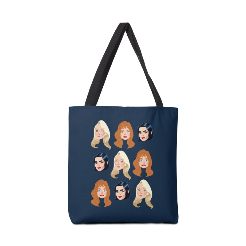 Death becomes her Accessories Tote Bag Bag by Ale Mogolloart's Artist Shop