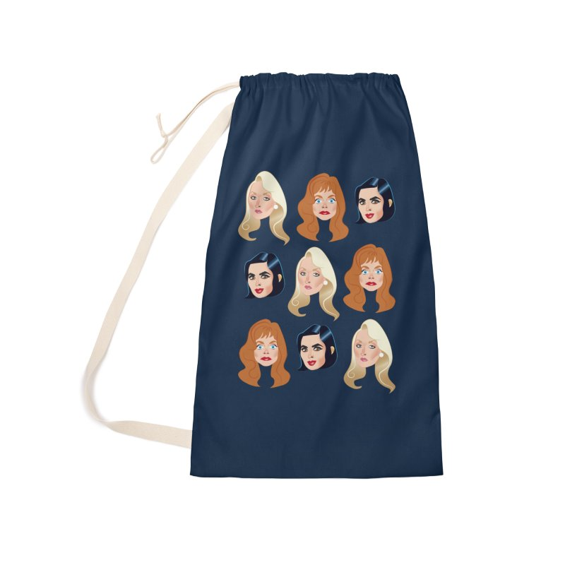 Death becomes her Accessories Laundry Bag Bag by Ale Mogolloart's Artist Shop